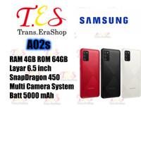 Samsung Galaxy A02s 4/64 garansi resmi SEIN - ram 4GB / rom 64GB - Hitam