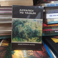 Affandi 70 Tahun Buku Biografi