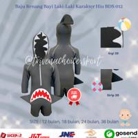 Baju Renang Diving Bayi Hiu/ Baby Shark Swimsuit 1-3 tahun BDS-012 - 12 bulan