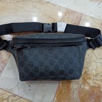 Tas Pinggang Waist Bag Gucci Import Kulit Waistbag Branded Terbaru
