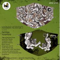 Art Mask 2ply - Marmar Herayukti - Harimau Nusantara