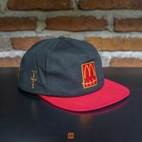 Topi Snapback TRAVIS SCOTT Cap MCD Black