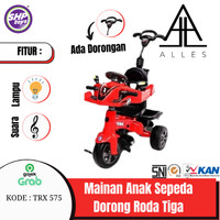 GOJEK/GRAB Mainan Anak Sepeda Dorong Roda Tiga/SHP TRX 575/Tricycle