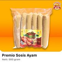 Premio Sosis Ayam Jumbo 500 gr isi 6 potong