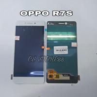 LCD TOUCHSCREEN FOR OPPO R7S WHITE