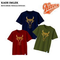 Baju Kaos Imlek GOLD OX Kerbau untuk Bayi Anak Remaja ~ kaosnama
