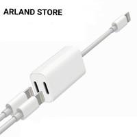 Kabel splitter Lighting + Audio Charge Adapter iPhone 7 8 Plus X