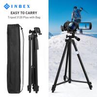 INBEX 3120 Plus Tripod 135cm+Bluetooth Remote+U Holder+Storage Bag