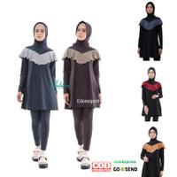 Baju renang muslim muslimah edorasport KAYLA size M - XXL