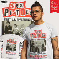 Kaos Musik Sex Pistols Rihen Project Band Punk Rock T-Shirt Vintage
