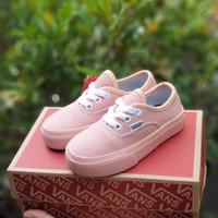 sepatu anak perempuan Vans pink grade original