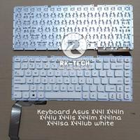 Keyboard Asus X441 X441n X441u X441s X441m X441na X441sa X441ub White