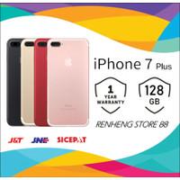 APPLE IPHONE 7 PLUS 128GB original GSM FU GARANSI TOKO 1 TAHUN