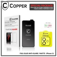 iPhone 11 - Bundling Tempered Glass GLARE + TG Kamera