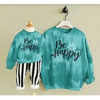 set Couple mom kids tie dye happy/baju pasangan ibu anak/mom kid baru