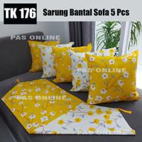 Paket Taplak + 5 Pcs Sarung Bantal Sofa 50 x 50 cm