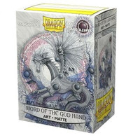 Dragon Shield Sleeve 100 Art Sleeves / Word of the God Hand