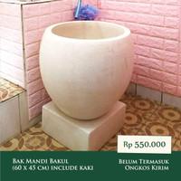 Bak Mandi Bakul Teraso Terrazzo (60 x 45 cm)