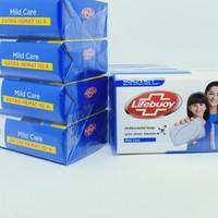 Lifebuoy Soap Mild Care 4x110gr - Sabun Mandi Batang