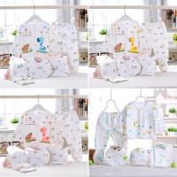 [Paket 5pcs] Perlengkapan Bayi Baru Lahir Baju Newborn Gift Set AQ3269