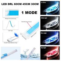 Lampu LED Alis Tempel DRL 60CM 45CM 30CM Mobil Motor 60 45 30 CM 1MODE