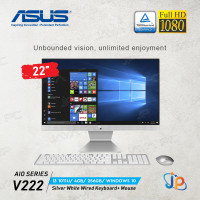 Asus AIO All In One PC V222FAK-WA342T (I3 10110U, 4GB, SSD 256, Win10)