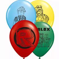 10 pcs balon latex motif game Roblox/dekorasi ulang tahun/ultah anak