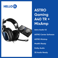 ASTRO Gaming A40 TR Wired Gaming Headset + MixAmp Pro TR