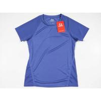 Baju Badminton Astec Grade Active TShirt TSW0UF1 Purple CLEARANCE SALE