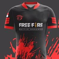 JERSEY BAJU KAOS GAMING FREE FIRE NEW / GUILD FREE FIRE MURAH 4 - S
