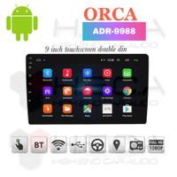 ORCA ADR-9988 Android 9 Head Unit Double Din ADR 9988 Tape Audio