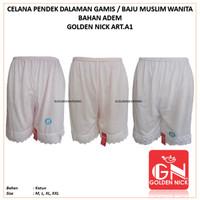 Golden Nick art.A1 | Celana Pendek Daleman Rok Baju Gamis Wanita Katun