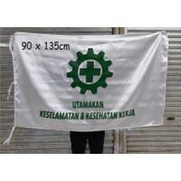 BENDERA K3 Bahan Drill 90x135cm