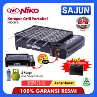 Niko Portable Grill Pan NK-269 Pemanggang Portabel NK269