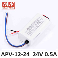 Mean Well APV-12-24 Power Supply LED Driver (24v 0.5Ampere)