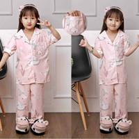 Baju tidur anak piyama setelan anak perempuan (1-8tahun)