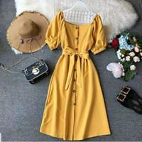 Baju Dress Casual Wanita Korea Terbaru Twistcone