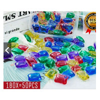 Sabun Cuci Baju Liquid Antiseptik 50pcs/BOX / Loundry Gell / Detergen