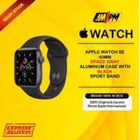 Apple Watch SE 40MM Spacegrey Alumunium Black Sportband