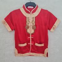baju imlek anak cowok cheongsam