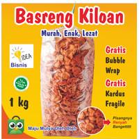 Basreng Pedas 1KG Basreng Kiloan Murah / Basreng Bandung