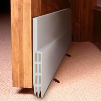 Door seal penutup celah bawah pintu penahan debu TEBAL - PUTIH