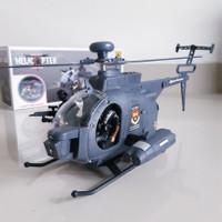 Mainan Helicopter Black Hawk Bump Go Edukatif Helikopter Baterai Anak