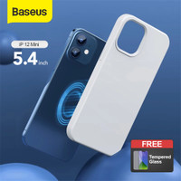 CASING IPHONE 12 BASEUS APPLE MAGSAFE SILICONE CASE PHONE COVER