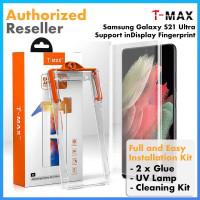 TMax T-MAX UV Tempered Glass Samsung Galaxy S21 Ultra Plus Anti Gores - S21 Ultra