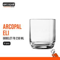 Gelas Mineral Arcopal Eli - Gobelet Fb 230 Ml Box of 6