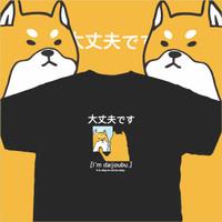 Baju Kaos Anime Inu - Kuruu Daijoubu Tee