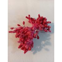 Putik angur plastik merah per ikat putik sari
