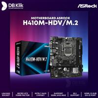 Motherboard ASROCK H410M-HDV M.2 m-ATX LGA1200 DDR4 HDMI DVI-D D-Sub