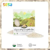 Fragrance Organic White Rice Bionic Farm 1kg